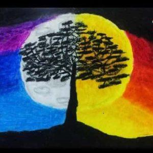 depiction of balance by NaomiRose