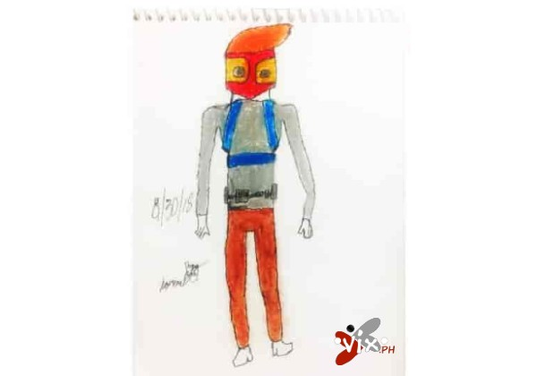 Crayons on paper by NazRon