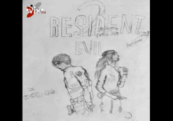 Resident Evil 2 Remake drawing 2019 - NazRon