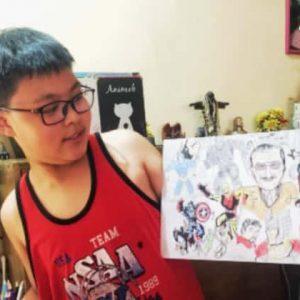 art tribute Stan Lee - NazRon1