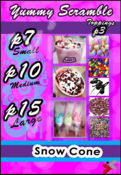 RSM menu