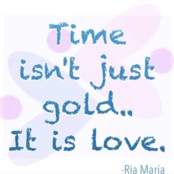 time poem quote by vix maria