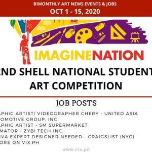 Art Bimonthly News Events & Jobs Oct 1 - Oct 15, 2020