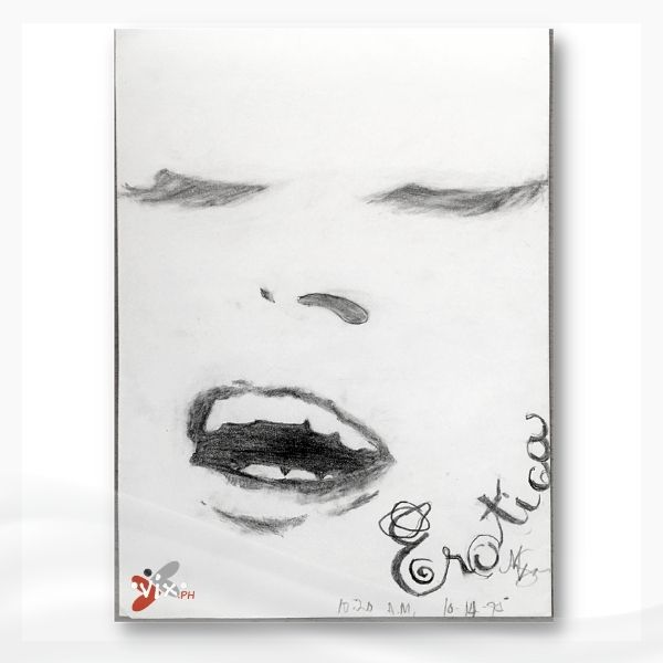 EROTICA by Vix Maria (highschool art)