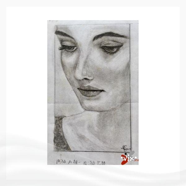 FACE by Vix Maria (highschool art)