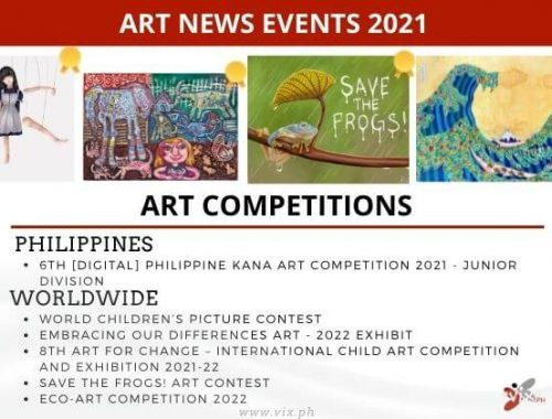 high school art competitions 2021