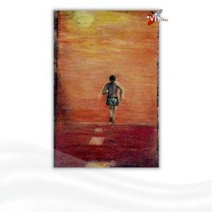 running man high school art by Vix Maria